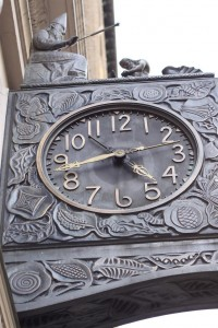 Closeup of the Detail on the Clock Surround (Source: Imagerysmith)